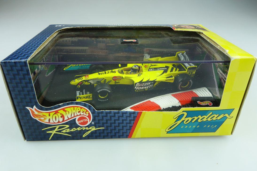 24839 Hot Wheels 1/43 Jordan Honda 199 Formel 1 Harald Frentzen 1999 Box  512142