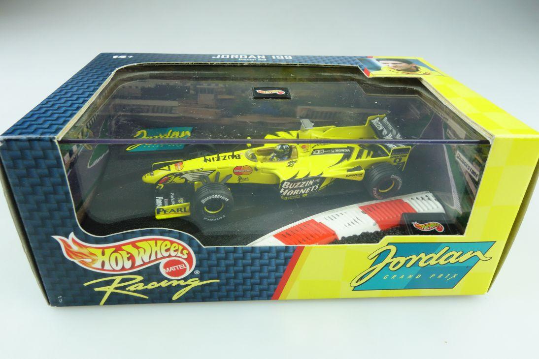 22811 Hot Wheels 1/43 Jordan Honda 199 Formel 1 Damon Hill 1999 mit Box 512143