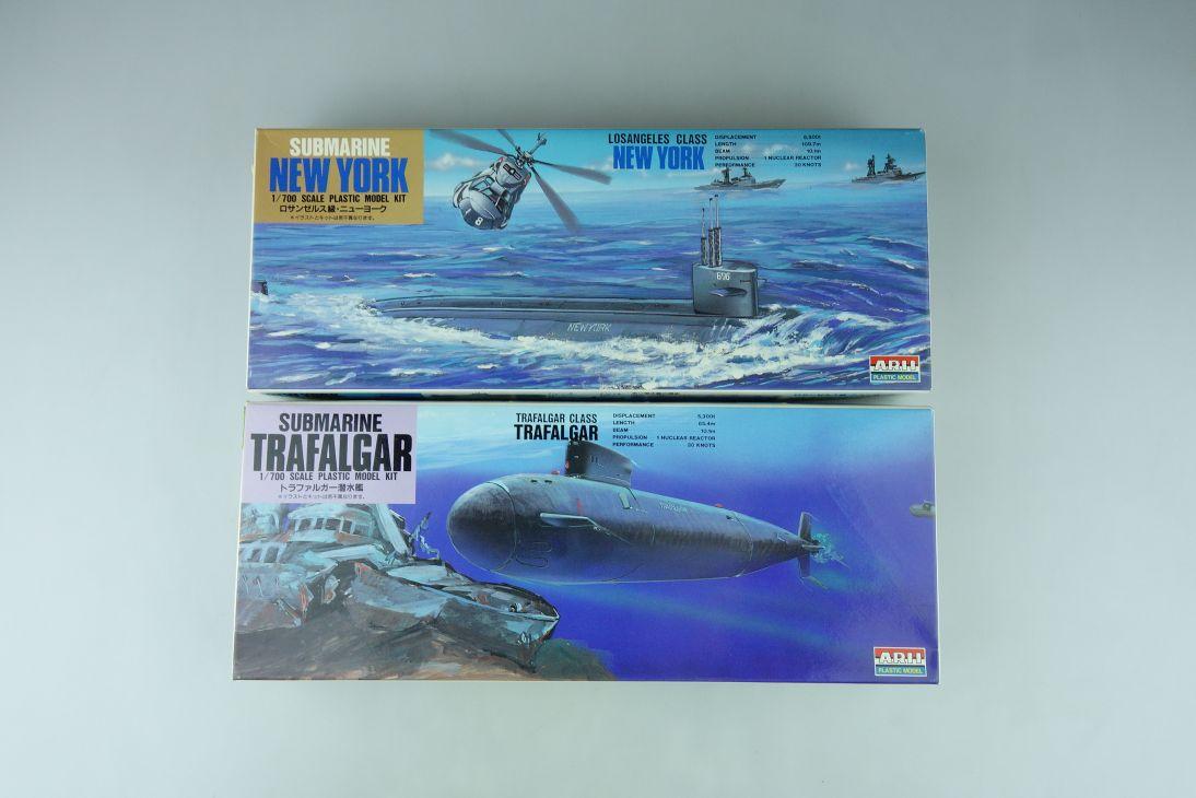 Arii 1/700 Submarine U-Boot Konvolut New York/ Trafalgar model kit 109126