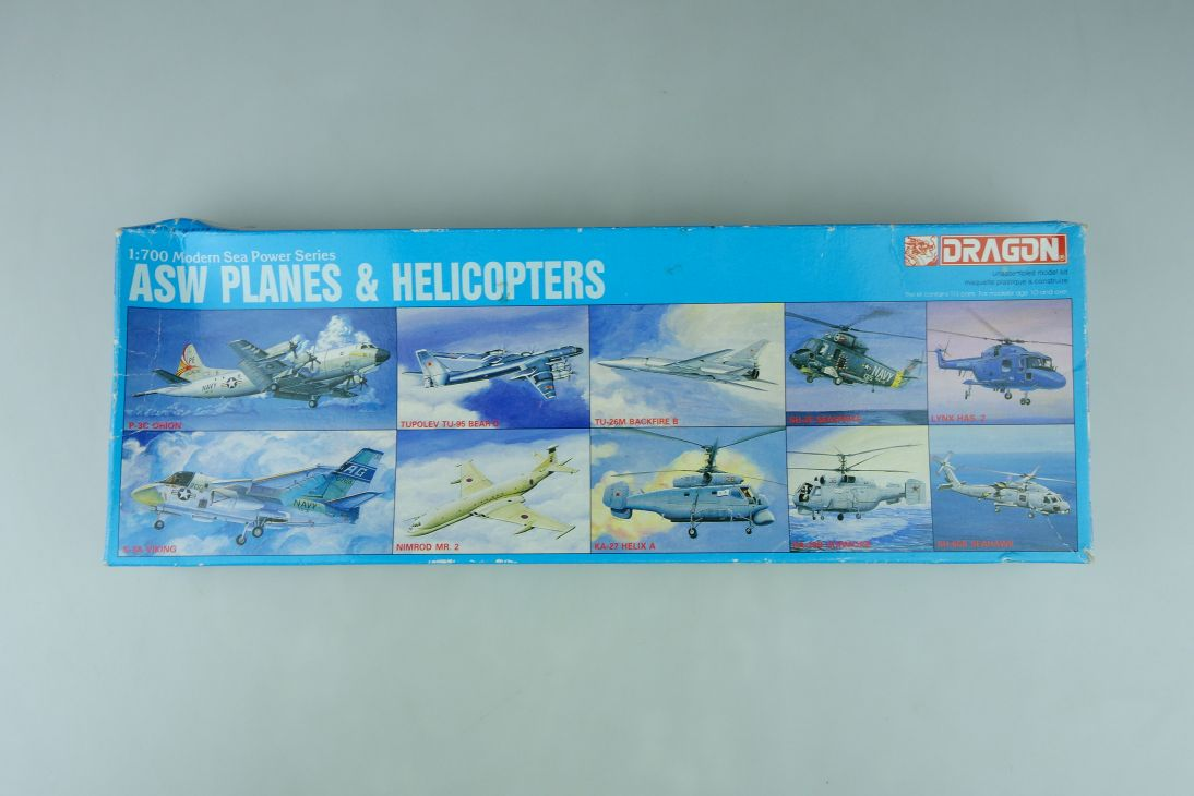 Dragon 1/700 ASW Planes & Helicopters No. 7005-800 model kit 109128