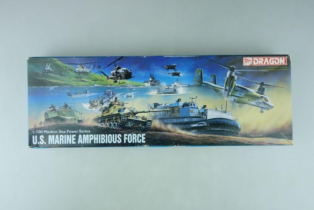 Dragon 1/700 U.S. Marine Amphibious Force No. 7010-800 model kit OVP 109129