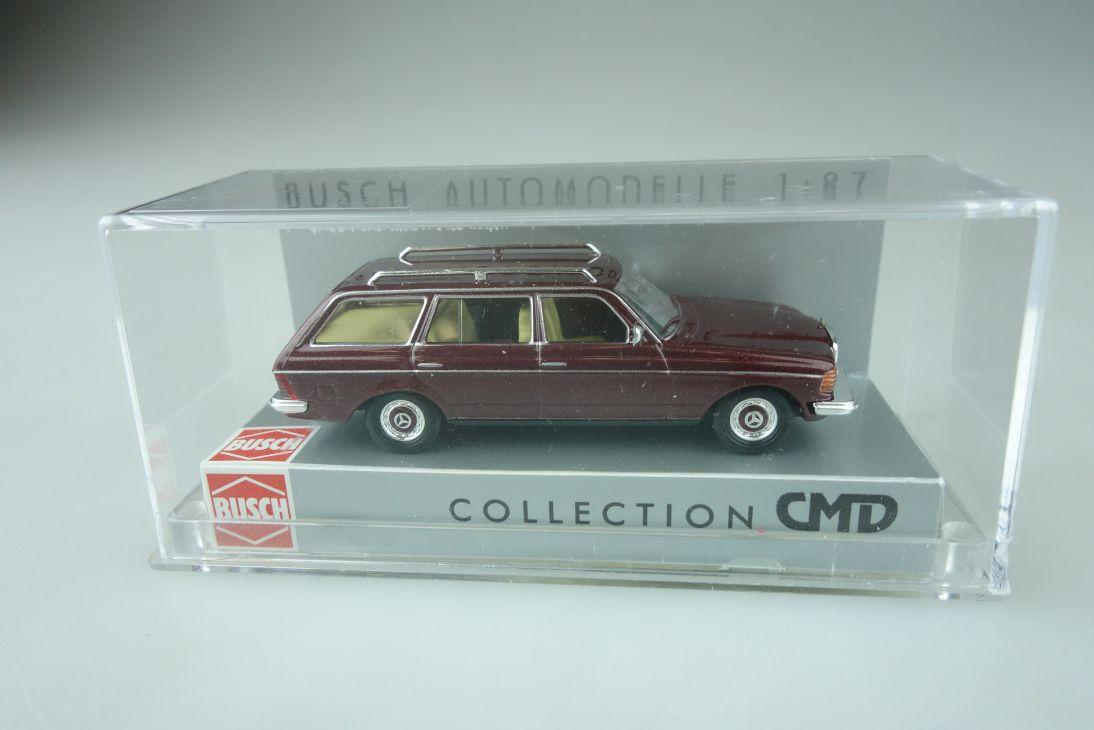 Busch 1/87 Mercedes Benz W123 T-Modell in CMD Ausführung 46805 Box 109086