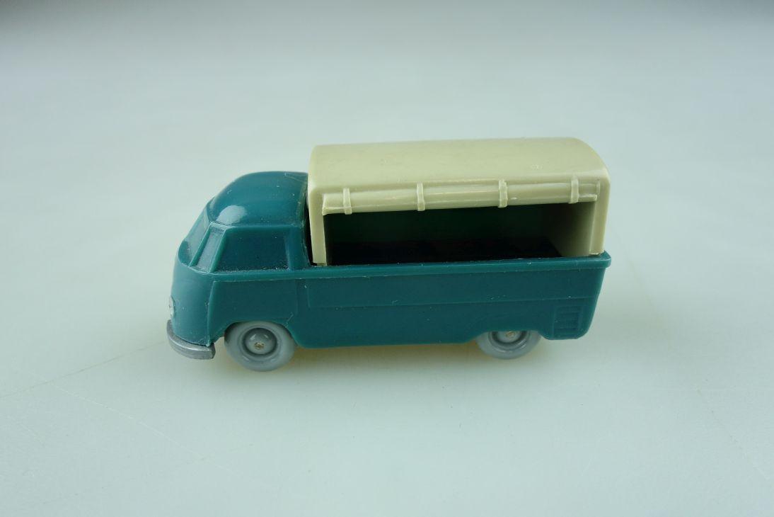 Saure 141 Wiking 1/87 VW T1 Pritsche Plane hellozeanblau unverglast 512245