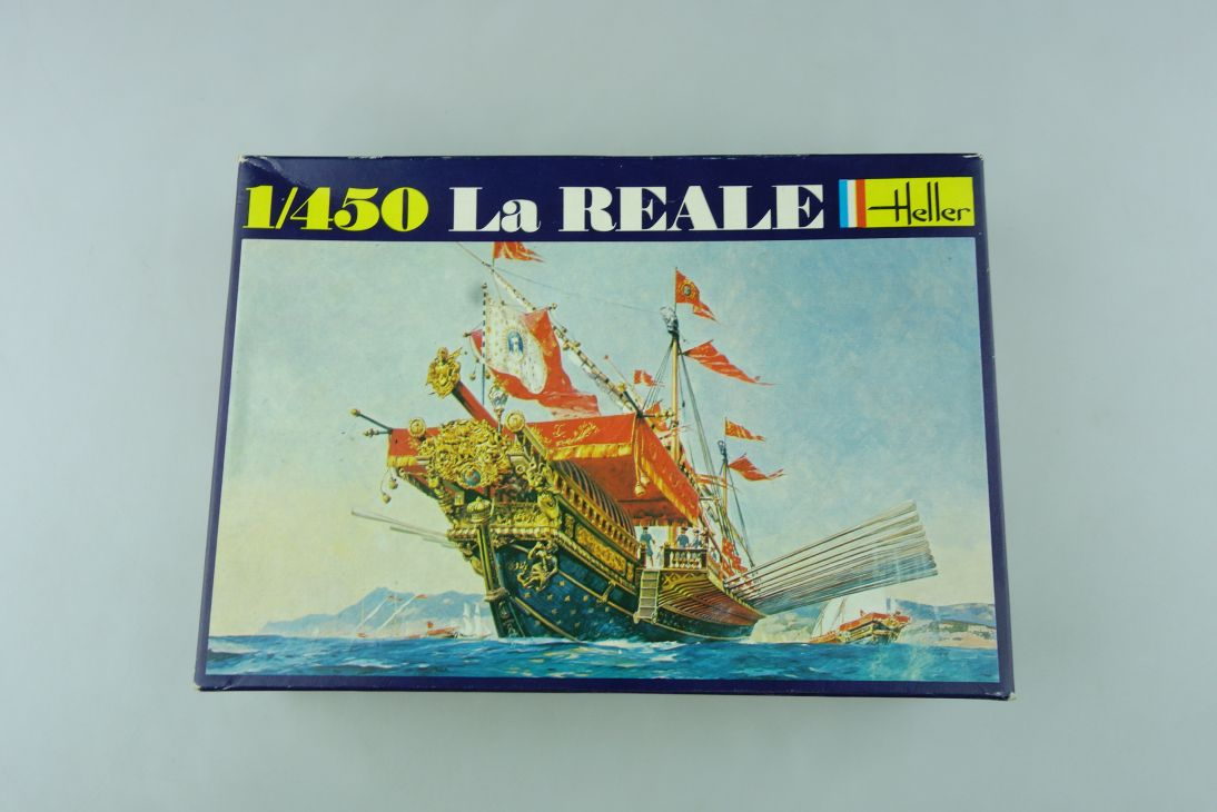 Heller 1/450 La Reale No. 064 ship model kit OVP 109153