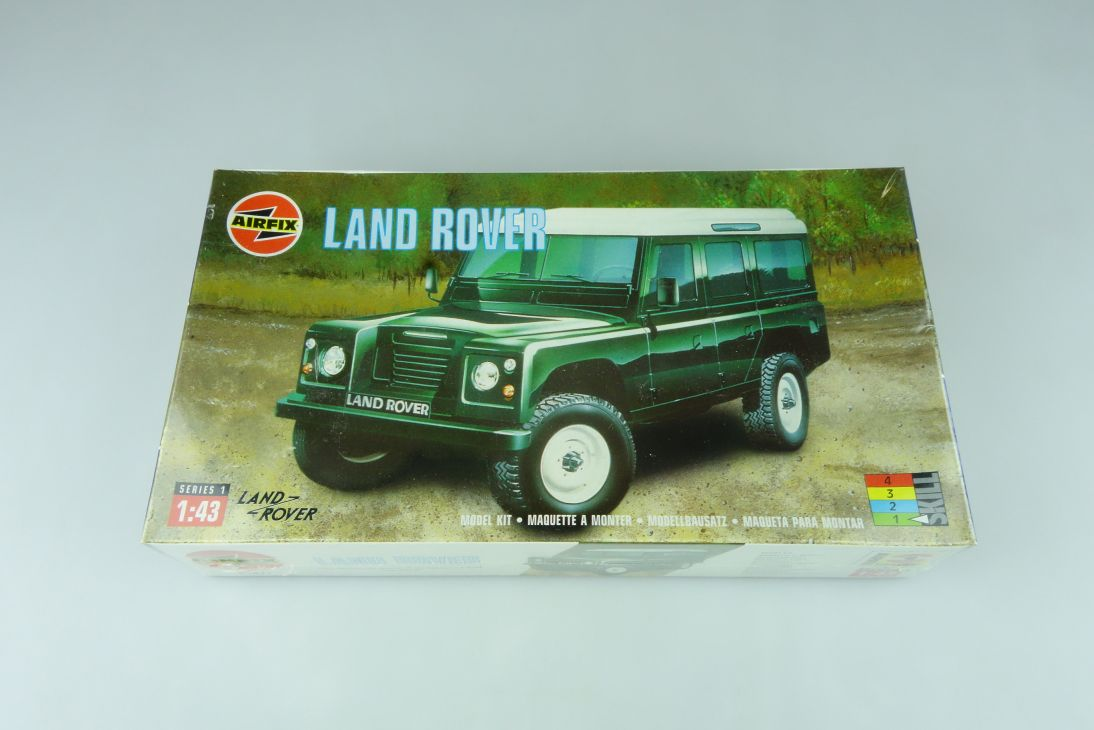 Airfix 1/43 Land Rover 01411 car model kit OVP 109172