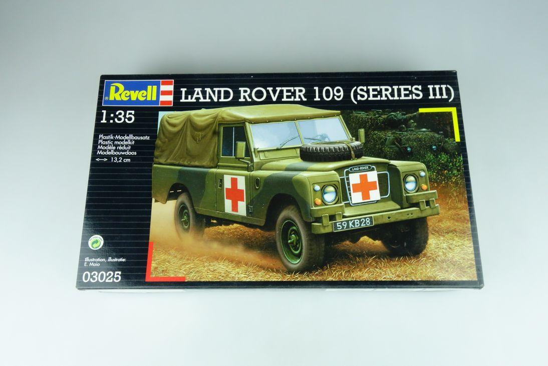 Revell 1/35 Land Rover 109 (Series III) 03025 model kit OVP 109180