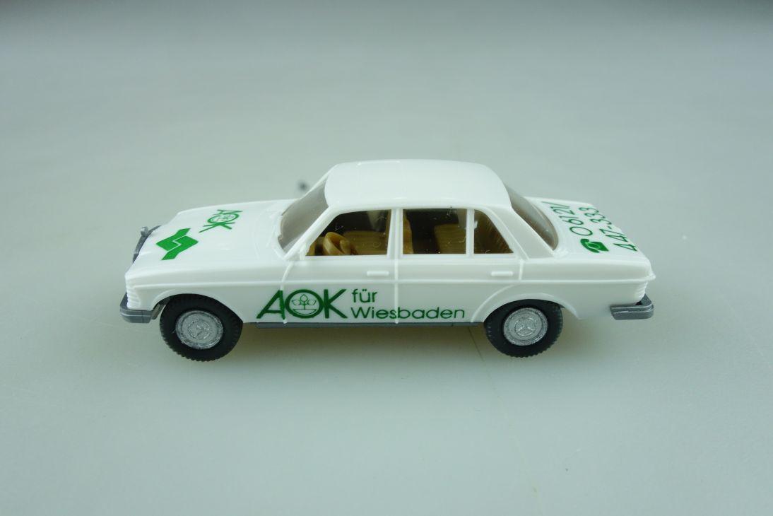 Wiking 1/87 Mercedes Benz 240 D AOK Werbemodell weiß ohne Box 512290