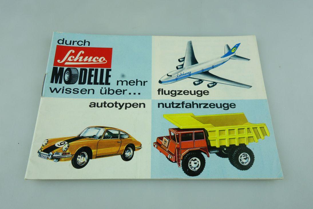 Schuco Produkt Katalog 1973 Din A6 Mercedes BMW Porsche & Diverse 512295