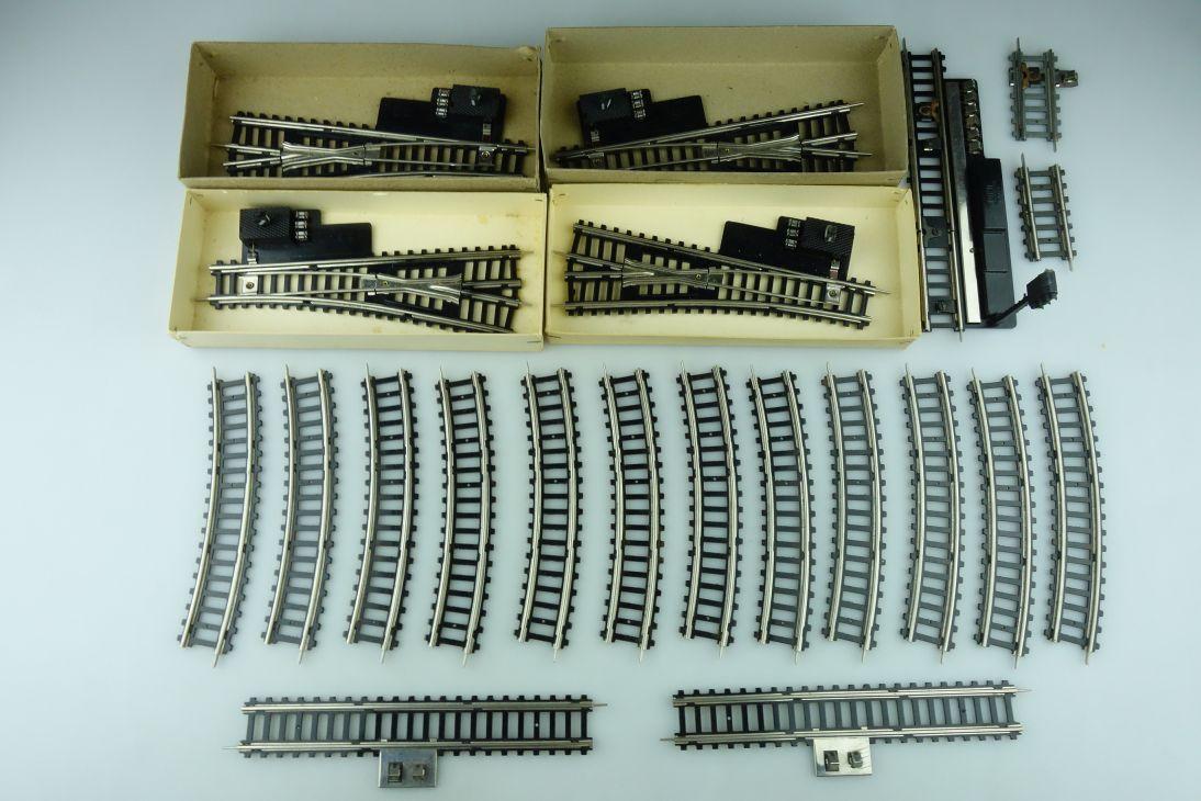 Permot Piko H0 DC Gleise Weichen Hohlprofil/Kunststoff Lichtsignal 109181