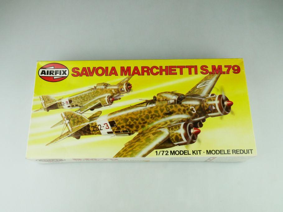 Airfix 1/72 Savoia Marchetti S.M.79 04007-3 plane model kit 109192