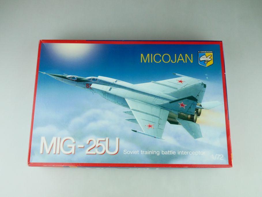 Condor 1/72 Micojan MIG-25U Soviet interceptor 72014 plane model kit 109197