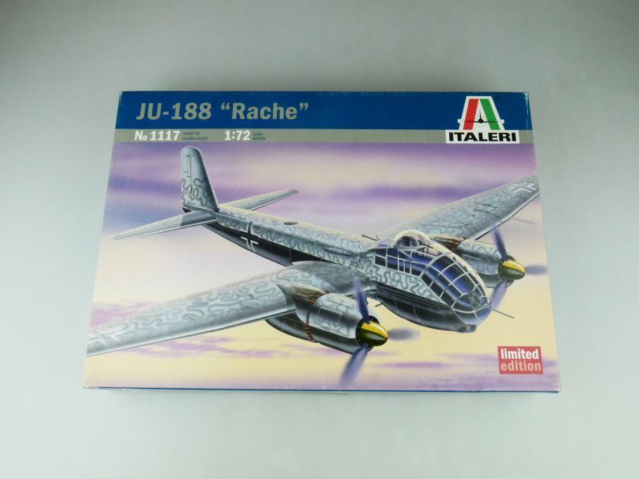 """Italeri 1/72 JU-188 """"Rache"""" No 1117 plane model kit 109202"""