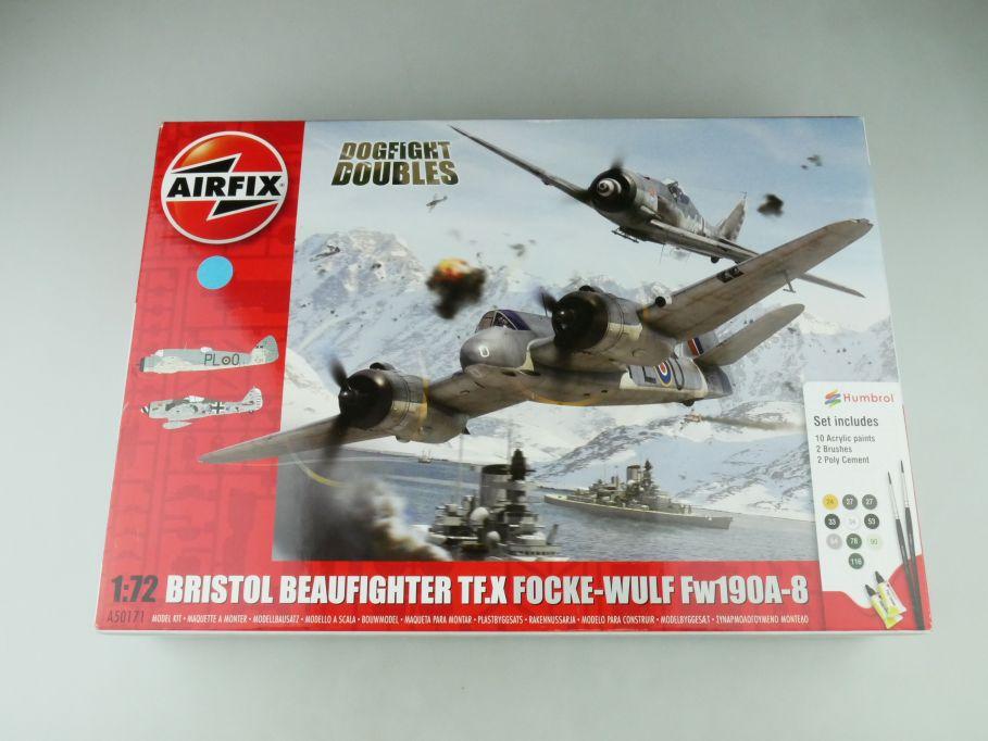 Airfix 1/72 Bristol Beaufighter TF.X + Focke-Wulf Fw190A-8 A50171 kit 109211