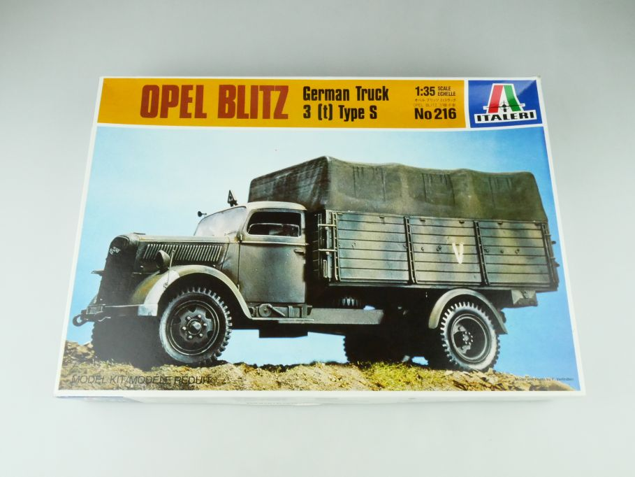 Italeri 1/35 Opel Blitz German Truck 3 (t) Type S No 216 model kit 109214