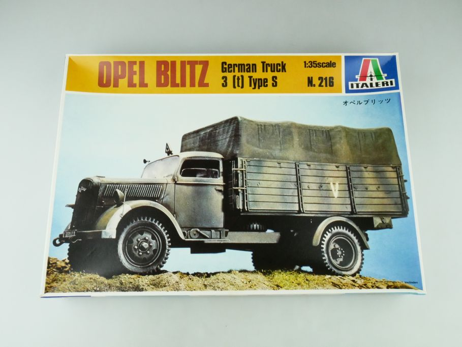 Italeri 1/35 Opel Blitz German Truck 3 (t) Type S No 216 model kit 109215