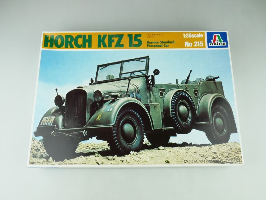 Italeri 1/35 Horch Kfz 15 German Standart Personnel Car No 215 model kit 109218