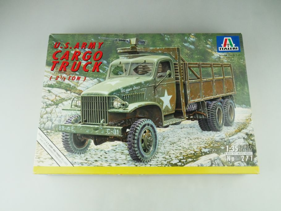 Italeri 1/35 U.S. Army Cargo Truck 2 1/2 ton model kit 109219