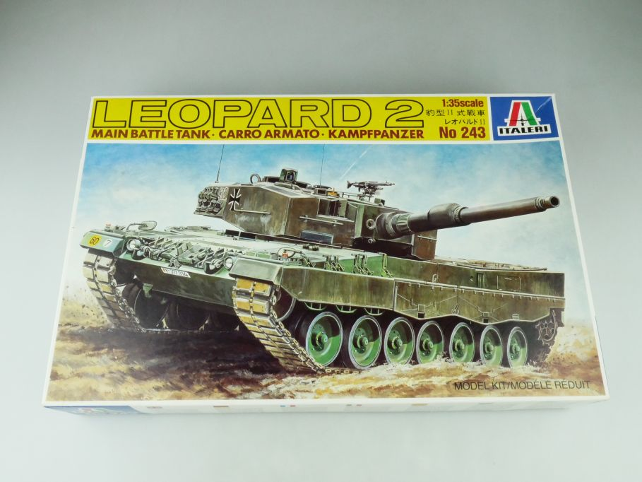 Italeri 1/35 Leopard 2 Main Battle Tank No 243 model kit 109221