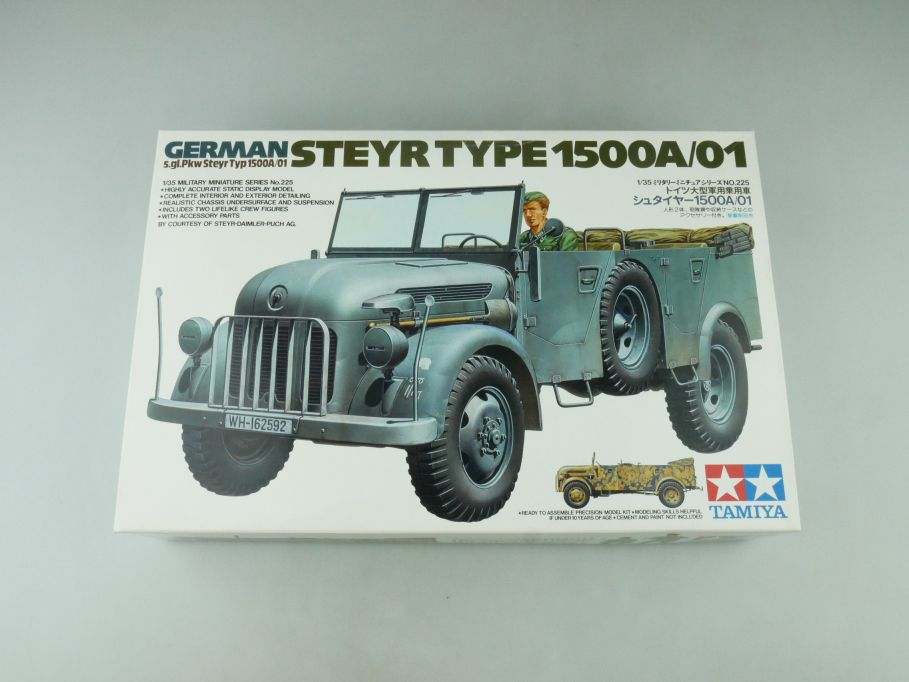 Tamiya 1/35 German S. gl. Pkw Steyr Typ 1500A/01 model kit 109223