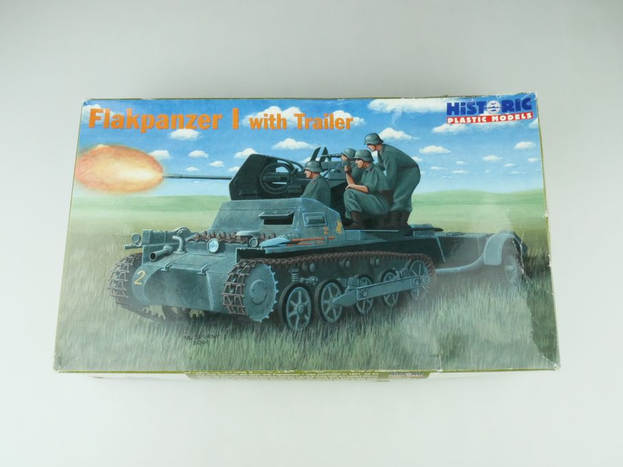 Historic PlasticModels 1/35 Flakpanzer I with Trailer No 35-006 model kit 109230