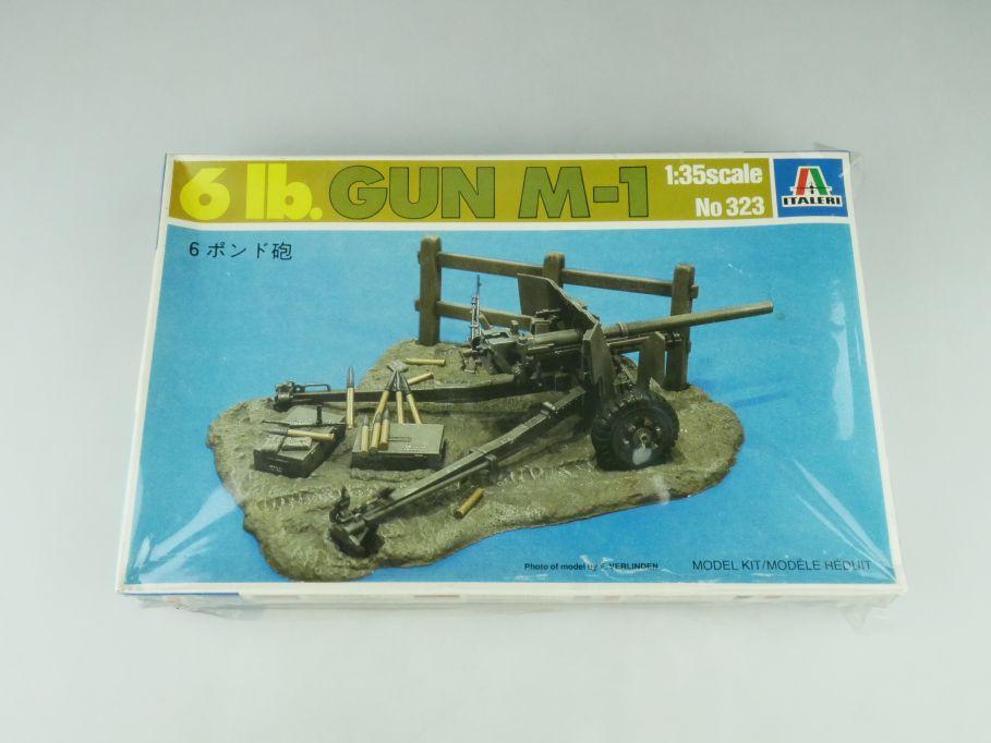 Italeri 1/35 6 lb. Gun M-1 Panzerabwehrkanone PAK No 323 model kit 109232