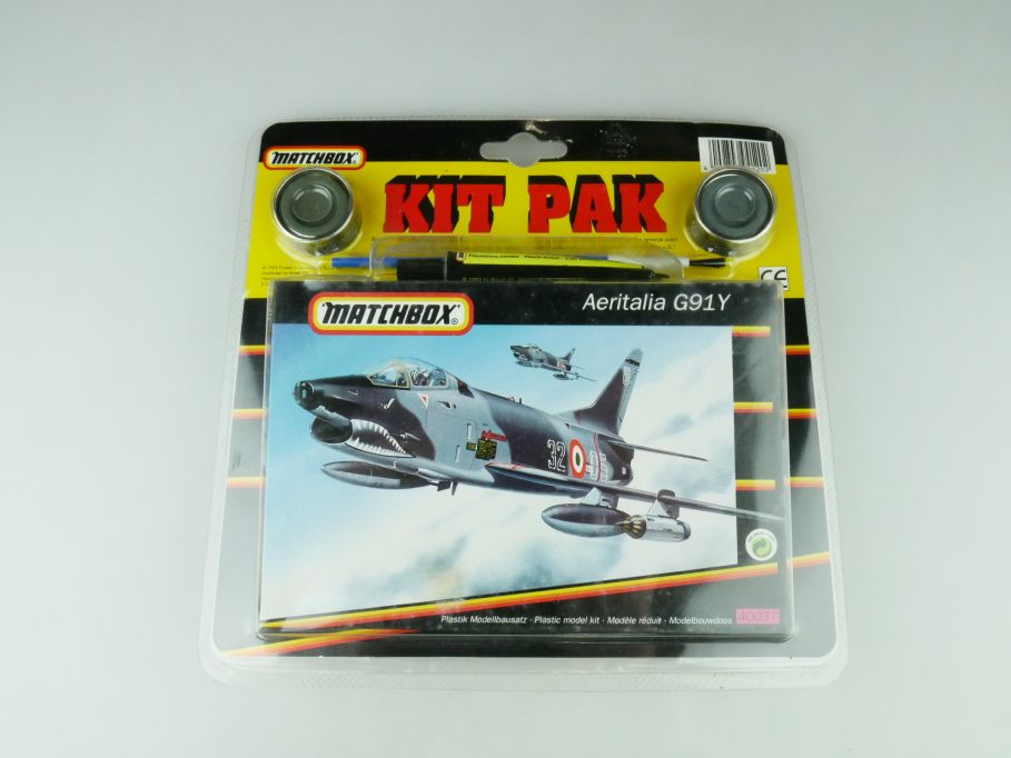 Matchbox 1/72 Kit Pak Aeritalia G91Y 400537 model kit 109235