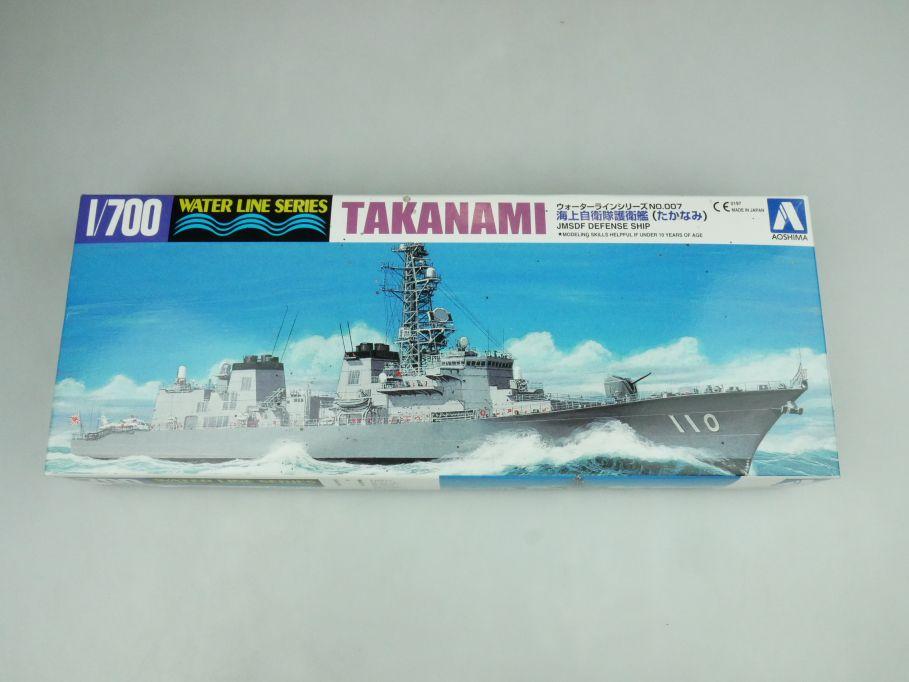 Aoshima 1/700 Water Line Series Takanami JMSDF Defense Ship No 007 kit 109238