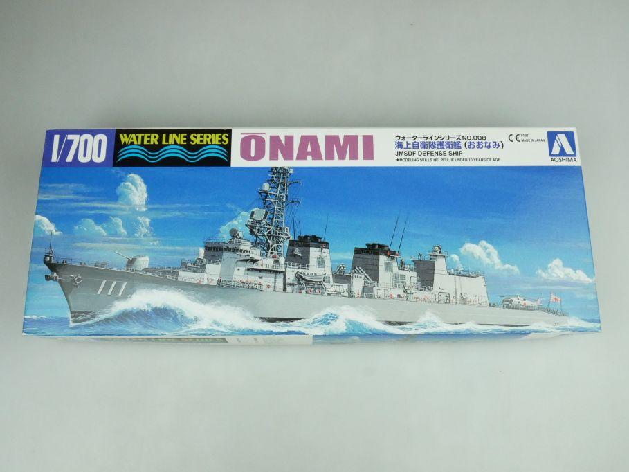 Aoshima 1/700 Water Line Series Onami Jp. Defense Ship No 008 kit 109239