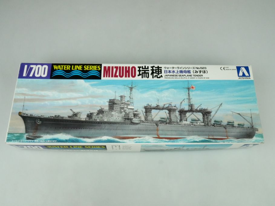 Aoshima 1/700 Water Line Series Mizuho jp. Seaplane Tender No 523 kit 109241