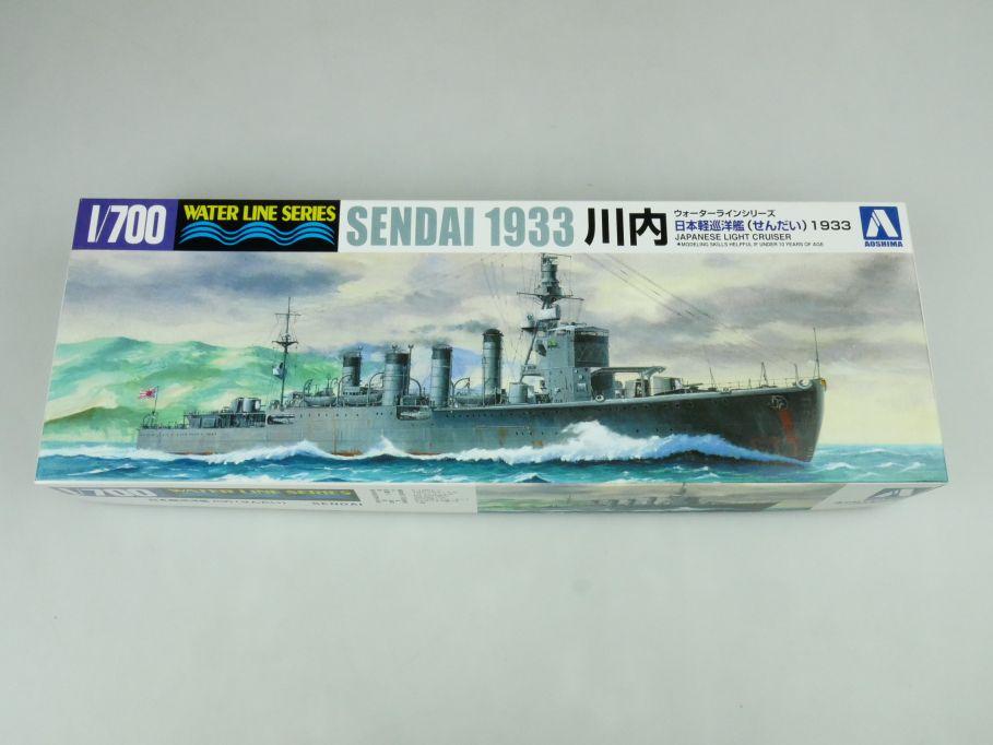Aoshima 1/700 Water Line Series Sendai 1933 jp. Light Cruiser kit 109242