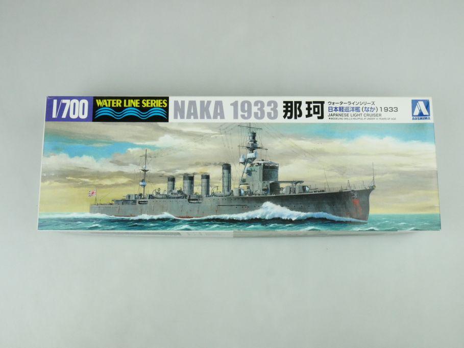 Aoshima 1/700 Water Line Series Naka 1933 jp. Light Cruiser model kit 109243