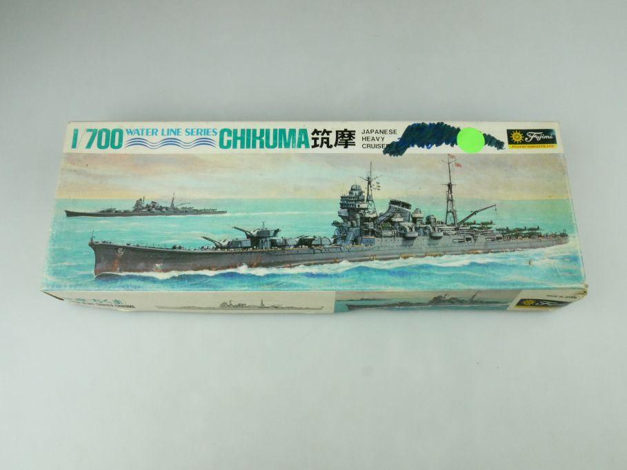 Fujimi 1/700 Water Line Series Chikuma Japan Heavy Cruiser kit 109273