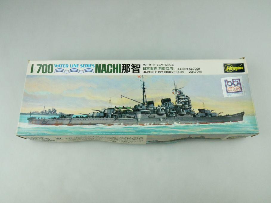 Hasegawa 1/700 Water Line Series Nachi Japan Heavy Cruiser No 6 kit 109276