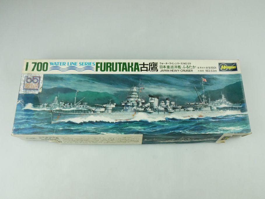 Hasegawa 1/700 Water Line Series Furutaka Japan Heavy Cruiser No 59 kit 109277