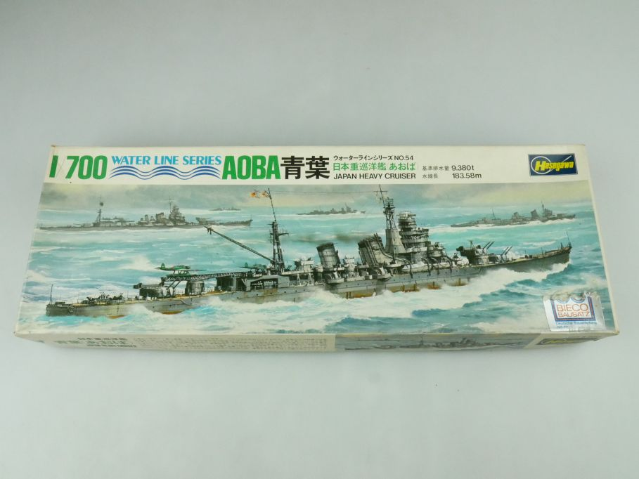 Hasegawa 1/700 Water Line Series Aoba Japan Heavy Cruiser No 54 kit 109278