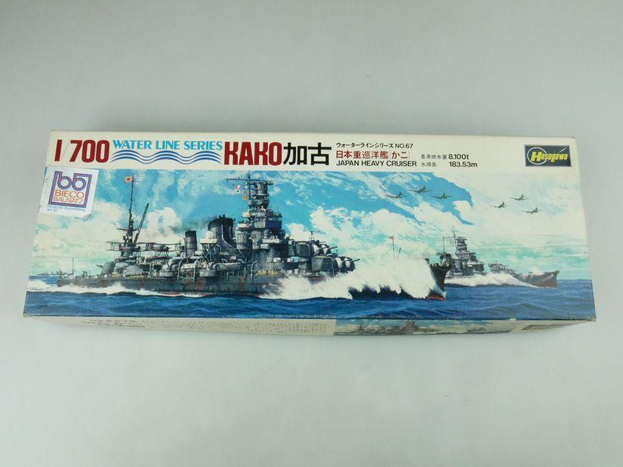 Hasegawa 1/700 Water Line Series Kako Japan Heavy Cruiser No 67 kit 109279