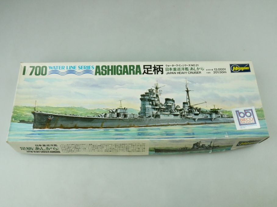 Hasegawa 1/700 Water Line Series Ashigara Japan Heavy Cruiser No 21 kit 109282