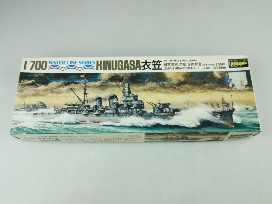 Hasegawa 1/700 Water Line Series Kinugasa Japan Heavy Cruiser No 64 kit 109283