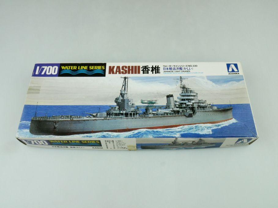 Aoshima 1/700 Water Line Series Kashi Japanese Light Cruiser No 330 kit 109288