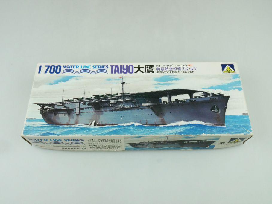 Aoshima 1/700 Water Line Series Taiyo Japan Aircraft Carrier No 201 kit 109293
