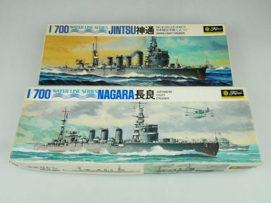 Fujimi 1/700 Water Line Series Jintsu / Nagara Japan Light Cruiser kit 109302