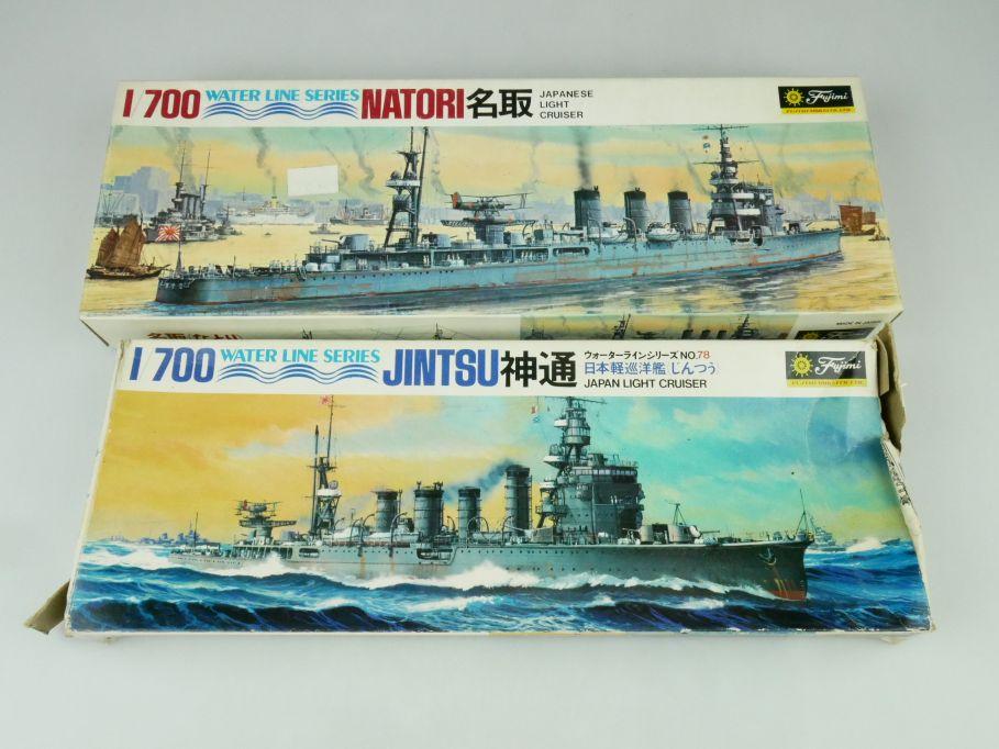 Fujimi 1/700 Water Line Series Jintsu / Natori Japan Light Cruiser kit 109303
