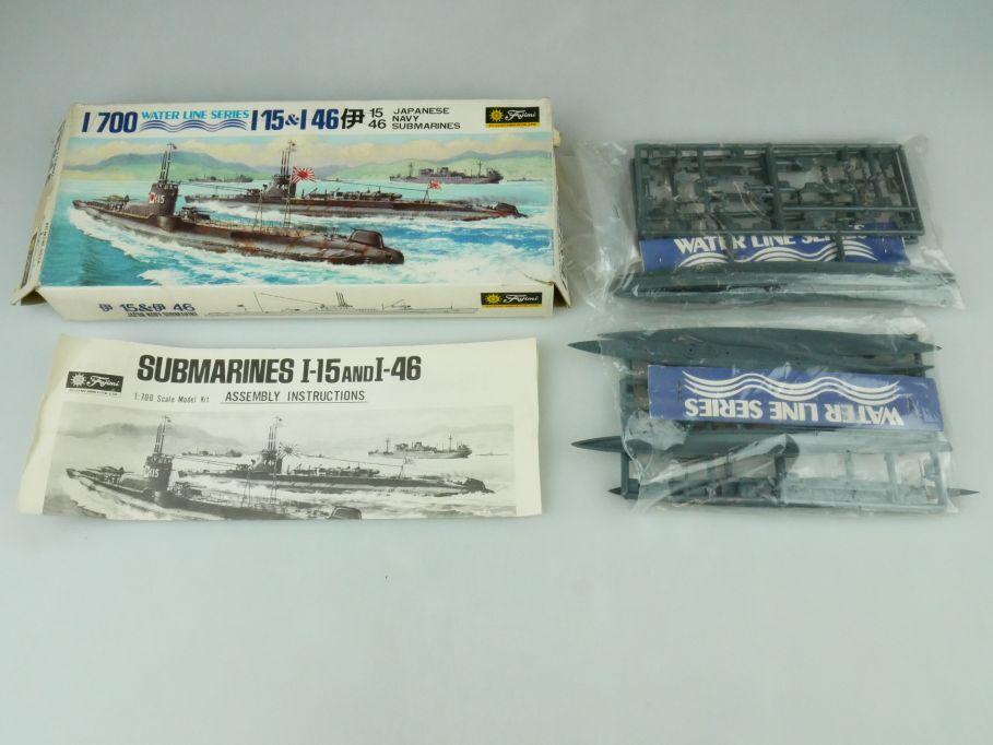 Fujimi 1/700 Water Line Series 2x I-15 & I-46 Japan Navy Submarine kit 109308