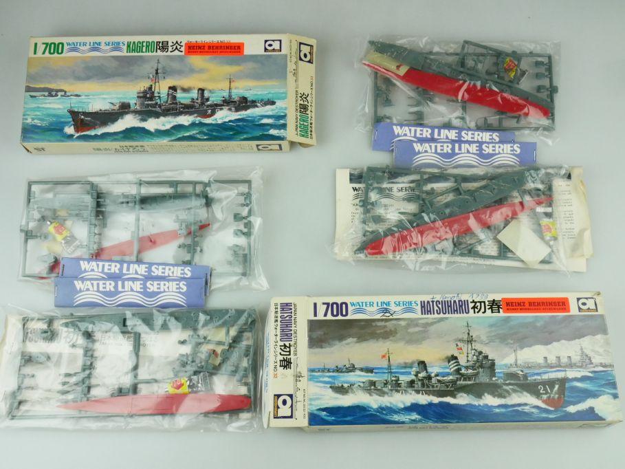 Aoshima 1/700 Water Line Konvolut Kagero Hatsuharu Japan Destroyer kit 109325