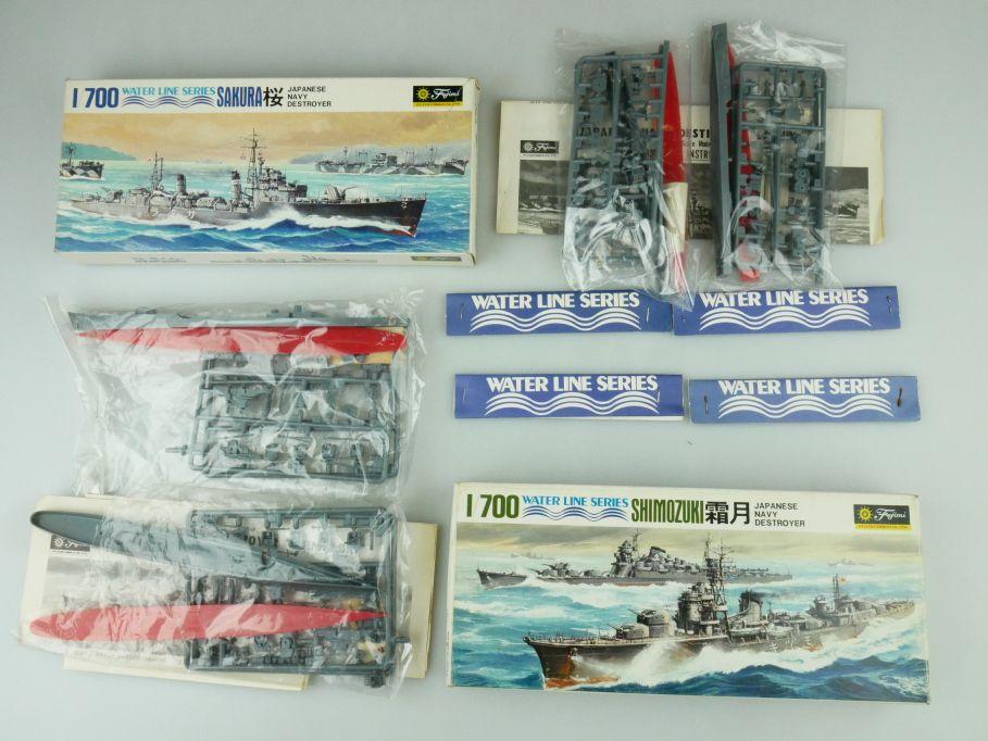 Fujimi 1/700 Water Line Konvolut Sakura Shimozuki Japan Destroyer kit 109329