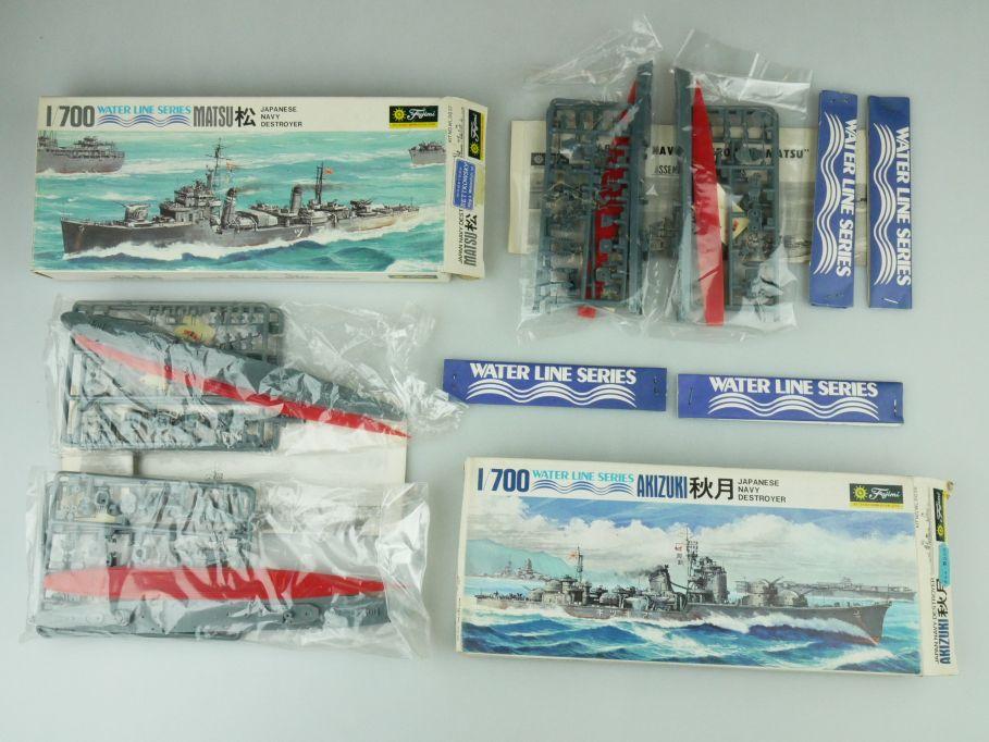 Fujimi 1/700 Water Line Konvolut Akizuki Matsu Japan Destroyer kit 109330