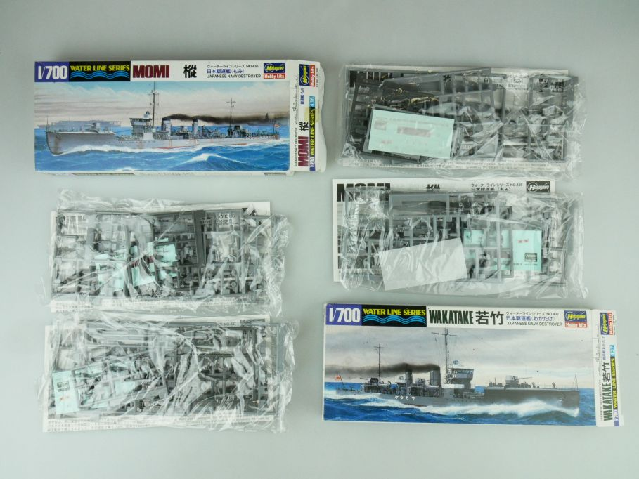 Hasegawa 1/700 Water Line Konvolut Watake Momi Japan Destroyer kit 109332