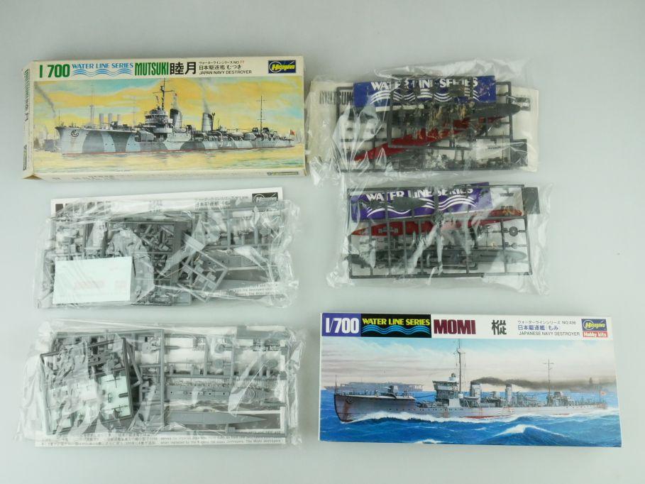 Hasegawa 1/700 Water Line Konvolut Mutsuki Momi Japan Destroyer kit 109333