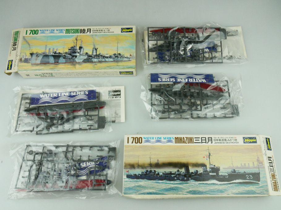 Hasegawa 1/700 Water Line Konvolut Mutsuki Mikazuki Japan Destroyer kit 109334
