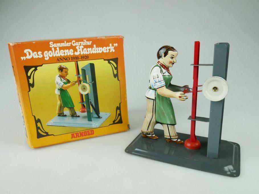 Arnold Blech Spielzeug Das goldene Handwerk Anno 1910-1920 tinplate toy 109361